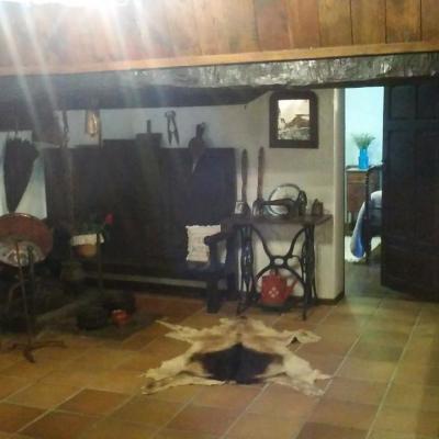 Antigua Cocina tradicional con chimenea