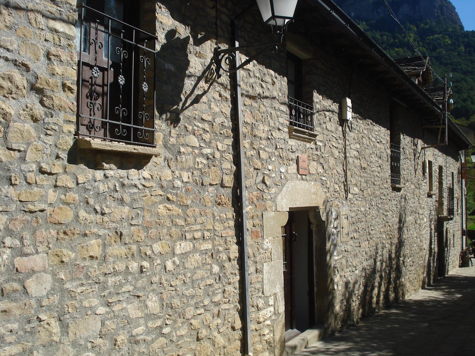 Fachada Casa Barangua